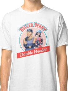 Roller Derby Double Header Classic T-Shirt