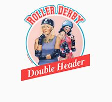 Roller Derby Double Header Unisex T-Shirt