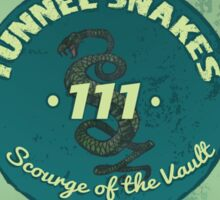 Tunnel Snakes Sticker