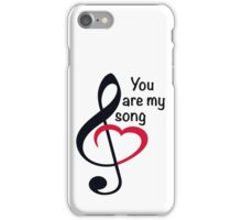 My Song iPhone Case/Skin