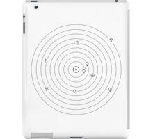 Solar System Symbols iPad Case/Skin