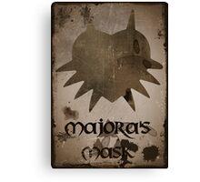Faded Majora's Mask Canvas Print
