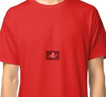 Red Origami Dragon Classic T-Shirt