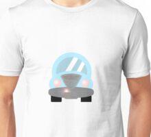 Cute Blue Car Unisex T-Shirt