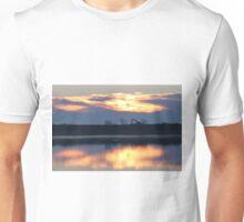 Sunrise Over The River Unisex T-Shirt