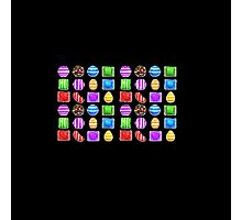 Candy Crush ( fun humour ) Photographic Print