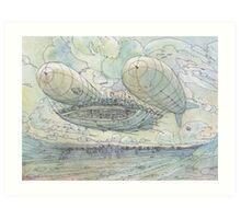Il Tappeto Volante! Art Print