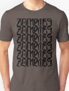 Zombies Zombies Zombies (White) T-Shirt