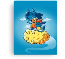 Pokemon - Dragon Ball Z Canvas Print