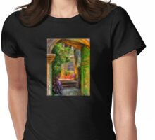 Another Glimpse Womens Fitted T-Shirt