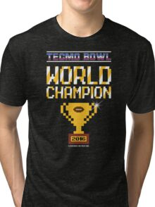 Tecmo Bowl World Champion 2016 Tri-blend T-Shirt