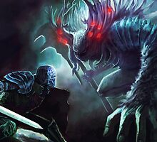 Dark Souls: Manus father of the Abyss by MemeDaddyCool
