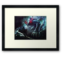 Dark Souls: Manus father of the Abyss Framed Print