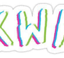 Suicide Squad: SKWAD shirt Sticker