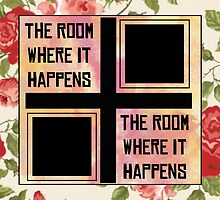 The Room Where It Happens // Meanwhile... by misspimpernel