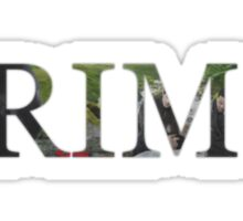 GRIMM - Red Riding Hood Sticker