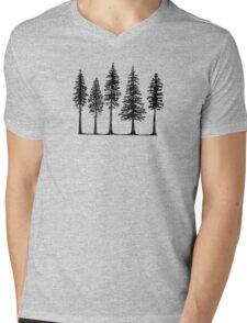 Pines Mens V-Neck T-Shirt