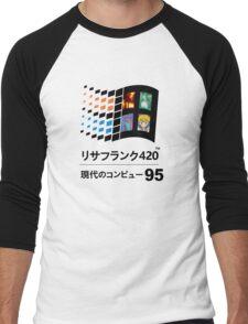 Vaporwave 95 Men's Baseball ¾ T-Shirt