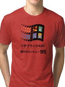 Vaporwave 95 Tri-blend T-Shirt