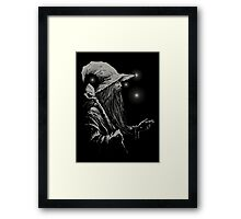 Grey Wizard Framed Print