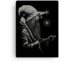 Grey Wizard Canvas Print