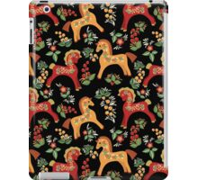 Folk horses pattern  iPad Case/Skin