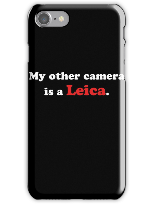 My other camera is a Leica (white) by John Perlock