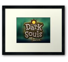 Dark Souls: Prepare to Die Framed Print