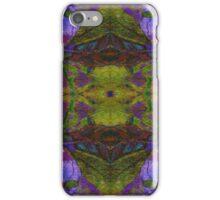 Floral Leaf Mirror iPhone Case/Skin