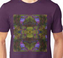 Floral Leaf Mirror Unisex T-Shirt