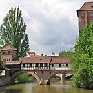 Nuremberg covered bridge by Elena Skvortsova