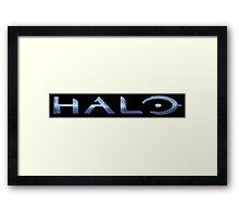 Halo Logo Framed Print