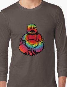Tie-Dye Buddha 2 Long Sleeve T-Shirt
