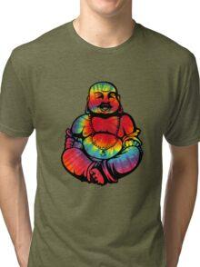 Tie-Dye Buddha 2 Tri-blend T-Shirt