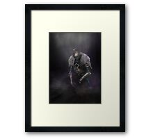Dark Souls 2: Fallen Knight Framed Print