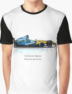 Fernando Alonso - Renault R26 Graphic T-Shirt