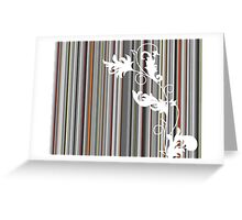Line Design Greeting Card