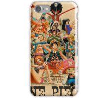 ONE PIECE - TEAM LUFFY (crewmate) iPhone Case/Skin