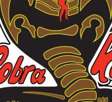 Cobra kai - Strike First - Strike Hard - No Mercy Light Variant Sticker