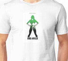 Sensational She-Hulk Silhouette Unisex T-Shirt