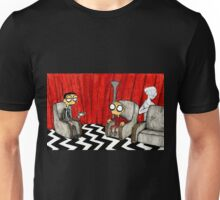 Twin Peaks Black Lodge  Unisex T-Shirt
