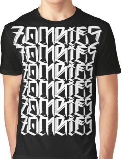 Zombies Zombies Zombies (Black) Graphic T-Shirt