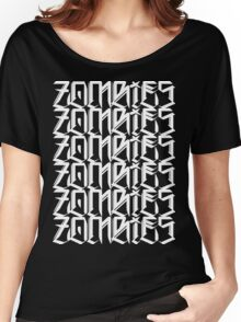 Zombies Zombies Zombies (Black) Women's Relaxed Fit T-Shirt