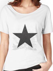 Bowie Tribute Women's Relaxed Fit T-Shirt