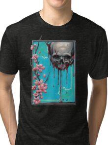 LIFE/DEATH NO BACKGROUND Tri-blend T-Shirt