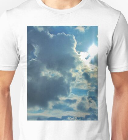 Sun Peeping Out Unisex T-Shirt