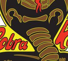 Cobra kai - Strike First - Strike Hard - No Mercy - Yellow Light Variant Sticker