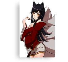 Ahri from League of Legend Canvas Print