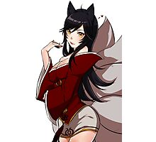 Ahri from League of Legend Photographic Print