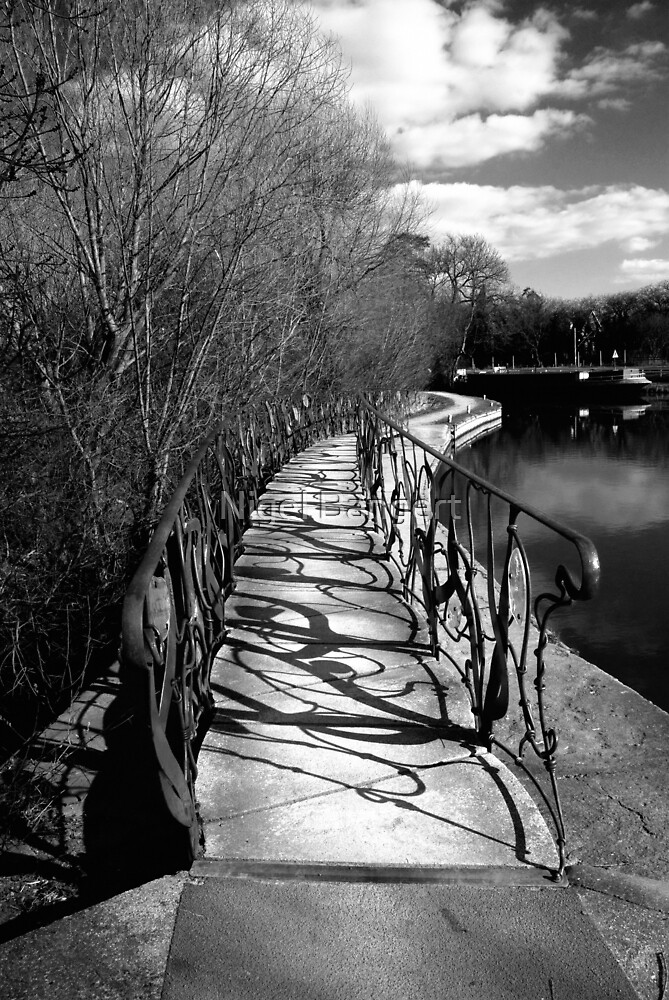Parndon Mill Bridge by Nigel Bangert